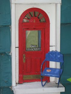 Ann Arbor, MI is home to an outgrowth of fairy doors appearing , original fairy doors, Red Shoes is one of the locations.
