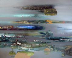 "Saatchi Art Artist Alexey Adonin; Painting, ""Above Air"" #art"
