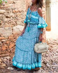 Off Shoulder Women Summer Dresses Flounce Dresses Sexy Dresses, Nice Dresses, Casual Dresses, Fashion Dresses, Work Dresses, Sweater Dresses, Floral Dresses, Beach Dresses, Party Dresses
