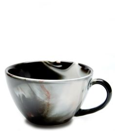 sipping a latte out of marbled ceramic sounds so divine. $20