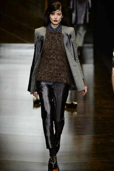 Trussardi | Fall 2014 Ready-to-Wear Collection | Style.com [Photo: Yanni Vlamos / Indigitalimages.com]