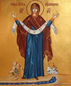 If you want to have a highly artistic image painted by a skilful icon-painter then our icons are exactly for - Page 4 Famous Freemasons, Blessed Mother Mary, Image Painting, Biblical Art, Orthodox Christianity, Love Mom, Orthodox Icons, Religious Art, Our Lady