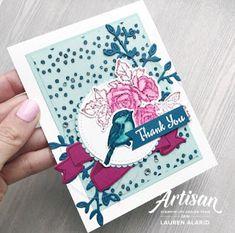 Petal Palette Thank You Card