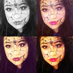 Broken, Halloween make up