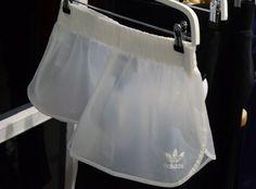 see through adidas shorts