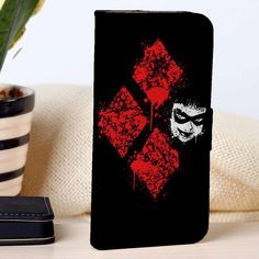Harley Quinn Diamond | Movie | custom wallet case for iphone 4/4s 5 5s 5c 6 6plus case and samsung galaxy s3 s4 s5 s6 case - RSBLVD