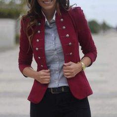 fall coats for women casual Blazer Fashion, Fashion Outfits, Womens Fashion, Fashion Trends, Fashion Coat, Woman Outfits, Trendy Fashion, Style Fashion, Latest Fashion