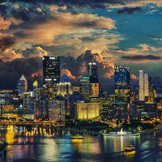 Pittsburgh Beautiful by @kemalbajagilovic