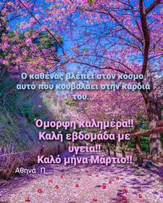 Good Morning Good Night, Wonderful Images, The Good Place, Cool Photos, Greece, World, Spring, Greece Country, The World