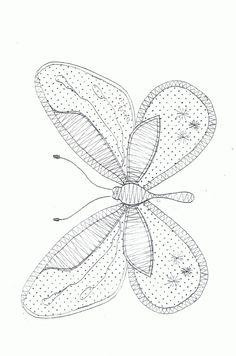Patroon Vlinder nr. 3 2012