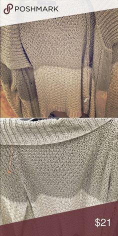 Brandy Melville cardigan Really rare! Just not my style has a stain but will wash away with in the washer , I have never seen this cardigan Brandy Melville Sweaters Cardigans