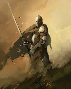 "Control or destroy we-are-knight: ""Oathbreaker by QuintusCassius "" Fantasy Armor, Medieval Fantasy, High Fantasy, Dark Fantasy Art, Fantasy Inspiration, Character Inspiration, Fantasy Character Design, Character Art, Armadura Medieval"