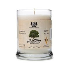 Wildwoods Cedarwood  Vanilla Aromatherapy Deodorizing Soy Candle For Pets Candles Scented Pet Odor Eliminator  Animal Lover Gift  6 OZ 170 g -- You can get more details by clicking on the image. (Note:Amazon affiliate link)