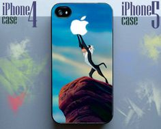 Lion King apple monkey disney Phone Case 4 & 4s,iphone 5
