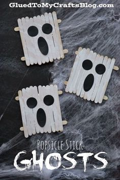 5 Ghost Crafts for Kids to Make at Halloween Ghosts are always fun to make for Halloween. These 5 crafts for kids are perfect for creating your own spooky decorations! Have fun with these cute and …