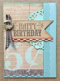Petite Fleur Paperie. Stampin' Up! Birthday Card