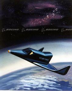 Boeing X-20 Dyna-Soar in Orbit