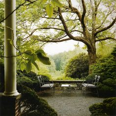 """John Saladino""""My strongly held belief that the house should be a sanctuary is echoed by my conviction that the garden should be a version of Arcadia, a place cut off from the rest of the world where dreams can be pursued."""""""