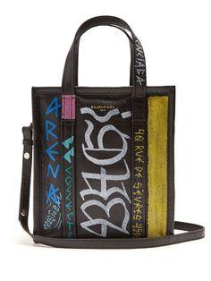 a55b4da8cf Balenciaga – XS Bazaar Shopper in Graffiti
