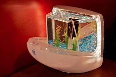 iMacquarium: Turn your old G3 iMac into an Aquarium in electronics diy  with iMac Apple