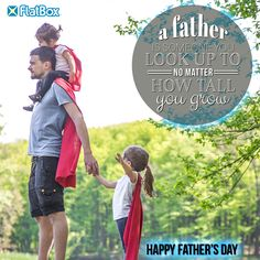 To all the SUPER Dads out there packing their work lunch and their kids school lunch with a FlatBox. Kids Lunch For School, Super Dad, Happy Fathers Day, Dads, Packing, Happy Valentines Day Dad, Bag Packaging, Fathers, Father