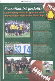 Spartans-Aufstieg amtlich im Blatt (Amtsblatt) Hand Signals
