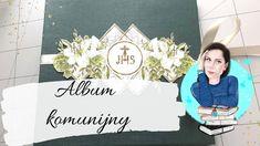 Album komunijny Craft O'Clock scrapbooking   Co ja narobiłam! Scrapbooking, Clock, Album, Cover, Youtube, Books, Crafts, Instagram, Watch