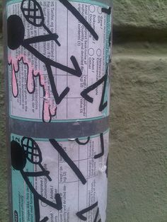 @ Copenhagen .... Street Art... le fameux graphiste à la passion du tennis