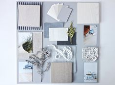 3 steps on how I start creating a mood board - Eclectic Trends Business Branding, Mood Board Interior, Material Board, Wie Macht Man, Concept Board, Nordic Style, Fabric Samples, Creative Inspiration, Mood Boards