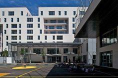 GPAA | 65 logements avec groupe scolaire et gymnase, Boulogne-Billancourt - GPAA