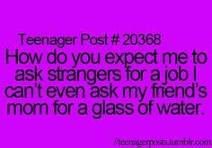 Glad I don't have to do this.. But if I did that's so true haha
