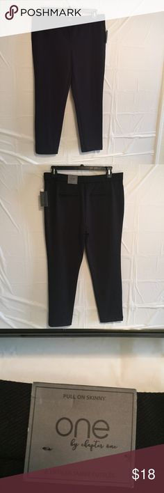 One by Chapter One black skinny pants Black pull on skinny pants One by Chapter One Pants Skinny