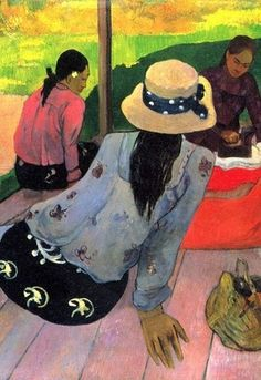 GAUGUIN, 1894. -repinned by http://LinusGallery.com #art #artists