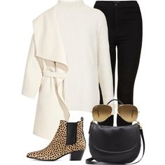 Unbenannt #296 by vanileeeeeeen on Polyvore featuring мода, Topshop, H&M, Yves Saint Laurent, Mulberry and Ray-Ban