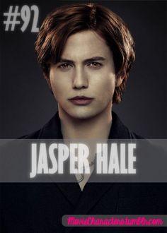 JASPER HALE  Played By: Jackson Rathbone Film: Twilight / New Moon / Eclipse / Breaking Dawn Part 1 / Breaking Dawn Part 2 Year: 2008 / 2009 / 2010 / 2011 / 2012