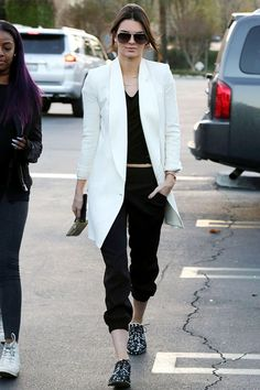 Androgynous: Kendall Jenner. | Bossa  #look #enero
