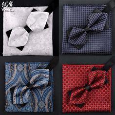 Cheap mens bow tie, Buy Quality bow tie directly from China bow tie fashion Suppliers: SHENNAIWEI 2016 mens bow tie and handkerchief set bowtie fashion cravatta gemelli men ties sets cravatta uomo seta lot