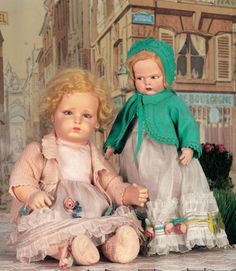 Two Different Worlds: 59 Rare Italian Cloth Character Baby by Lenci in Original Costume