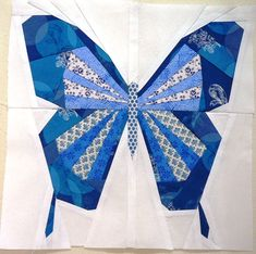 Butterfly Pattern Available Now | The Tartankiwi