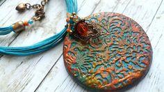Polimero argilla gioielli fatti a mano in Europa. di NakitM