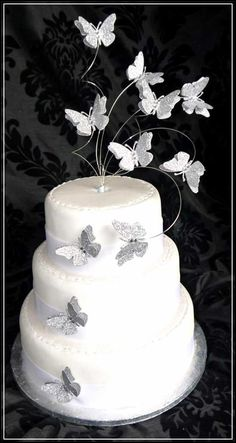 Beautiful Butterfly Wedding Cake Toppers to Enhance Your Moment -There are so many ways to make your wedding cake look so captivating. Here, we will serve the information about the Butterfly wedding cake toppers. Butterfly really has close relation to the beauty. Many couples love and prefer to choose this topper for their cake because it gives not only...- http://bybrilliant.com/beautiful-butterfly-wedding-cake-toppers-to-enhance-your-moment/