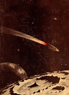 Mond-Rak, 1929.  Artiste inconnu. / The Science Fiction Gallery