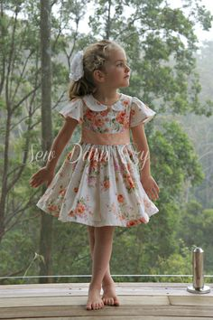 This listing is for the PDF PATTERN & TUTORIAL for making the Alyss Part Dress. You will be able to INSTANT DOWNLOAD the pattern after purchase. ***