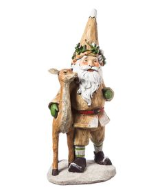Another great find on #zulily! Woodland Gnome Companion Statue by Evergreen #zulilyfinds