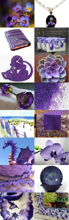 Purple Rain by Diane Waters on Etsy--Pinned with TreasuryPin.com