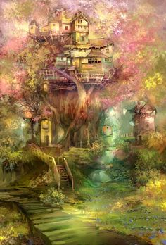 nymph's place by yunhyunjung.deviantart.com on @deviantART