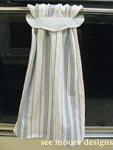 Handmade: Fabric Hanging Hand Towels Pattern - Pesquisa Google