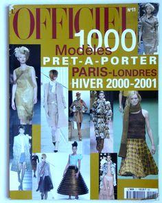 L'Officiel pret-a-porter Paris-Londres hiver 2000-2001