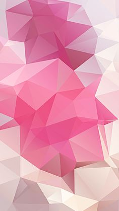 Pink-Polygon-iphone-6-background