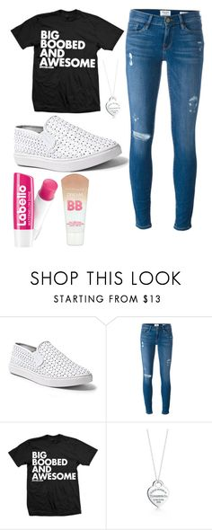 """""""No more schooooooolllll"""" by fragolinapiu ❤ liked on Polyvore featuring beauty, Steve Madden, Frame, Tiffany & Co. and Maybelline"""